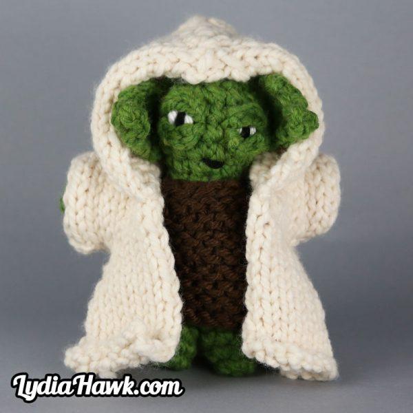 Jumbo Crochet Yoda Doll Lydia Hawk Designs Appalachian Mountains