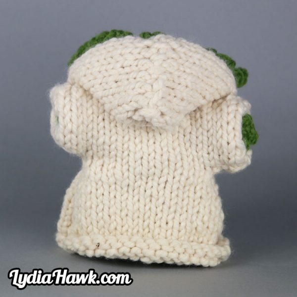 Jumbo Crochet Yoda Doll Lydia Hawk Designs Appalachian Mnts