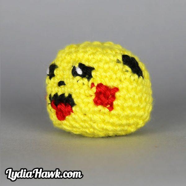 Crochet Pikachu Footbag Lydia Hawk Designs Appalachian Mtns