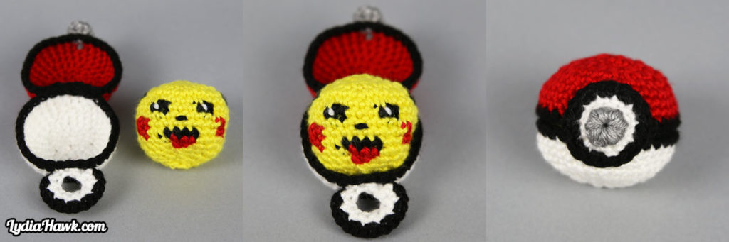crochet-pikachu-footbag