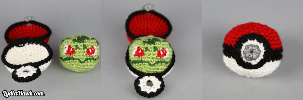 crochet-bulbasaur-footbag
