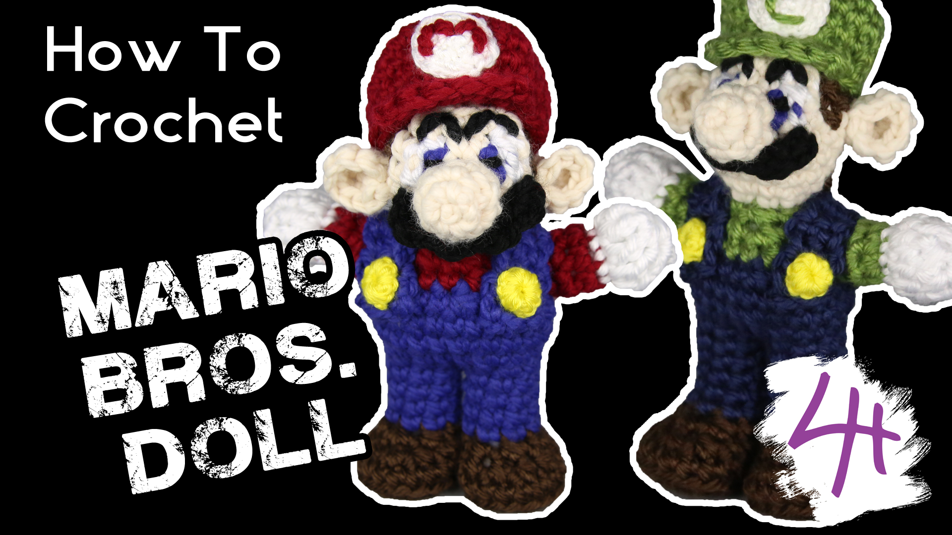 how-to-crochet-mario-bros-doll-lydia-hawk-designs